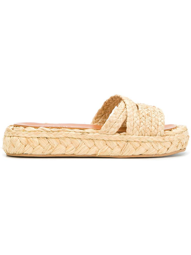 Clergerie woven slides outlet looking for cheap fast delivery cheap sale purchase outlet visit sale online shopping d1EXPnD