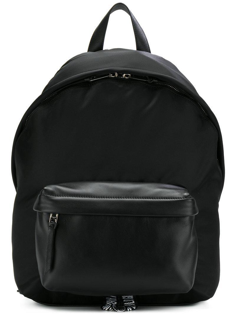 03f920710d66 Lyst - Givenchy Logo Strap Backpack in Black for Men