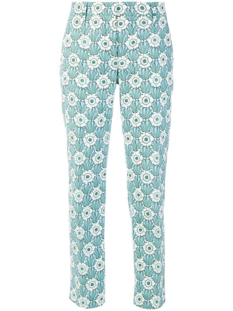 Pantalon Imprimé Nouveauté - Prada Bleu tdodpwjYT