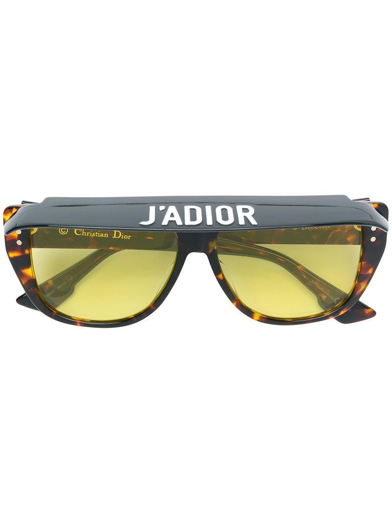 b043945197b Lyst - Dior Dior Club 2 Sunglasses in Brown