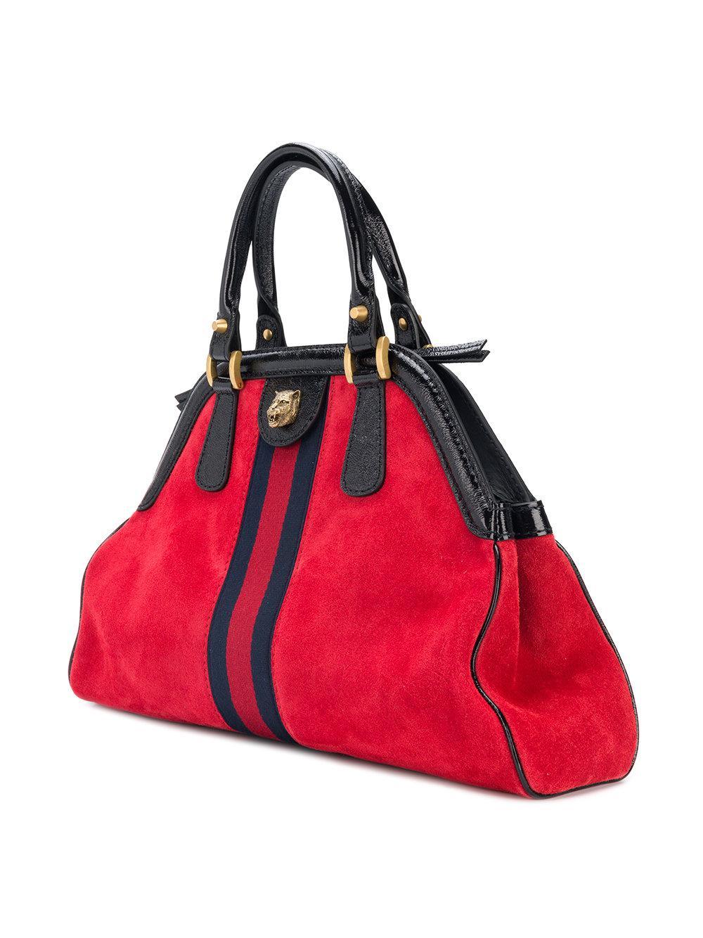 Lyst - Sac à main RE(BELLE) Gucci en coloris Rouge 9c7087baf5c