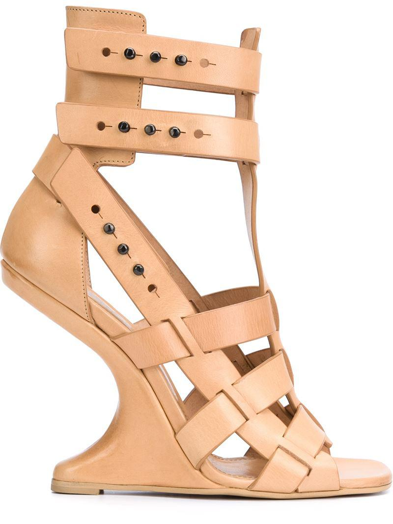 platform sandals - Nude & Neutrals Rick Owens dj1v1