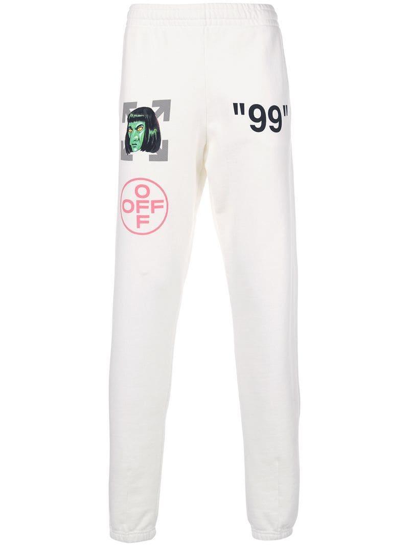 Lyst - Pantalones de chándal 99 Off-White c o Virgil Abloh de hombre ... 6b7f67de315f