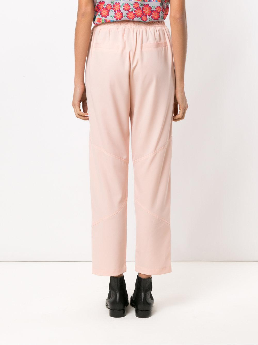Peru straight trousers - Nude & Neutrals OLYMPIAH rozMCsS5LF