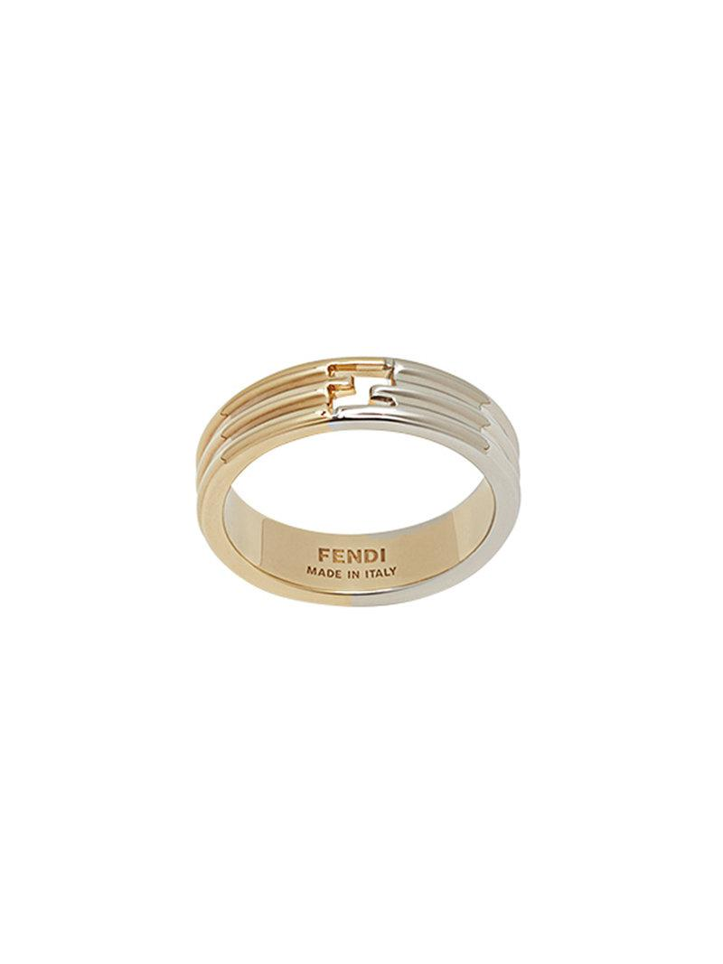 Fendi Flowerland ring - Metallic Nap6m2sq