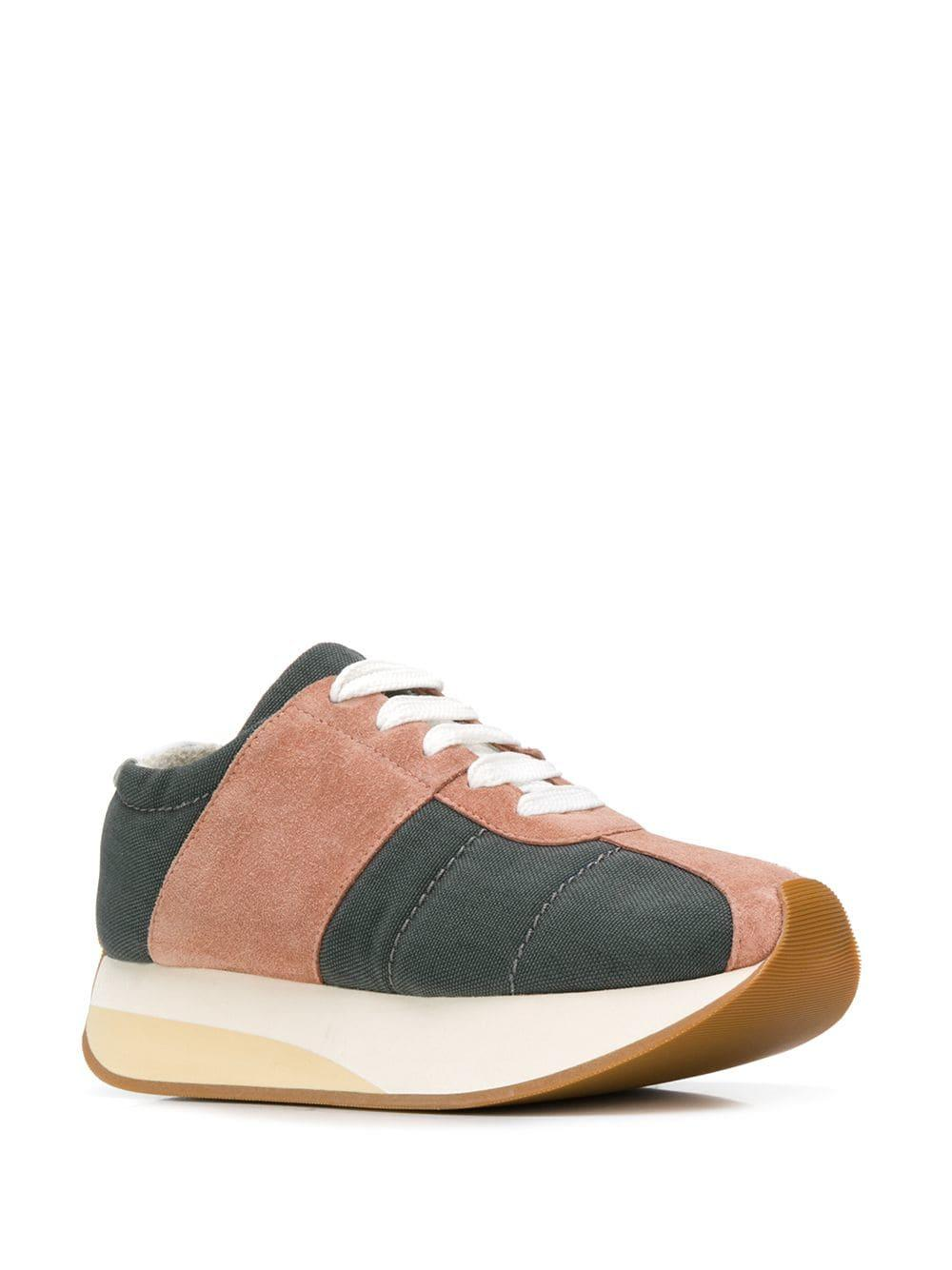 6a6e6444854 Lyst - Marni Platform Sneakers in Gray