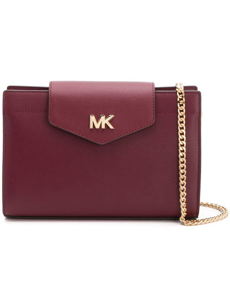 9849a0fc38170 Lyst - Michael Michael Kors 32f8gf5c9tcrossbodies610 in Red