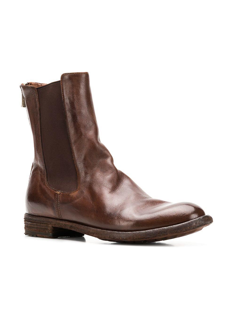 371a0b3da328 Lyst - Officine Creative Lexikon Chelsea Boots in Brown