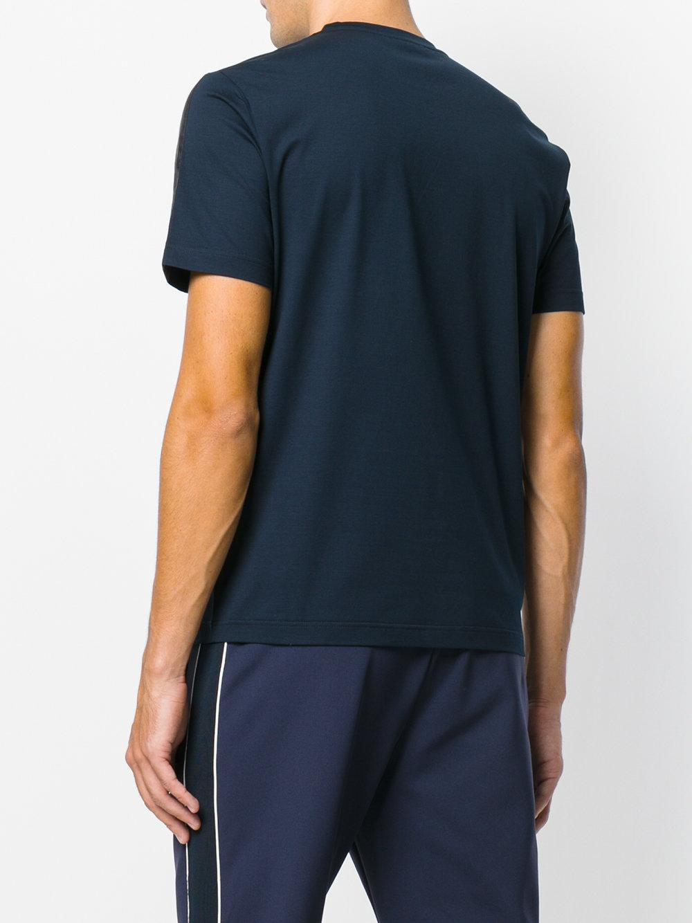 50cafad00b8a Lyst - T-shirt à poche poitrine Prada pour homme en coloris Bleu