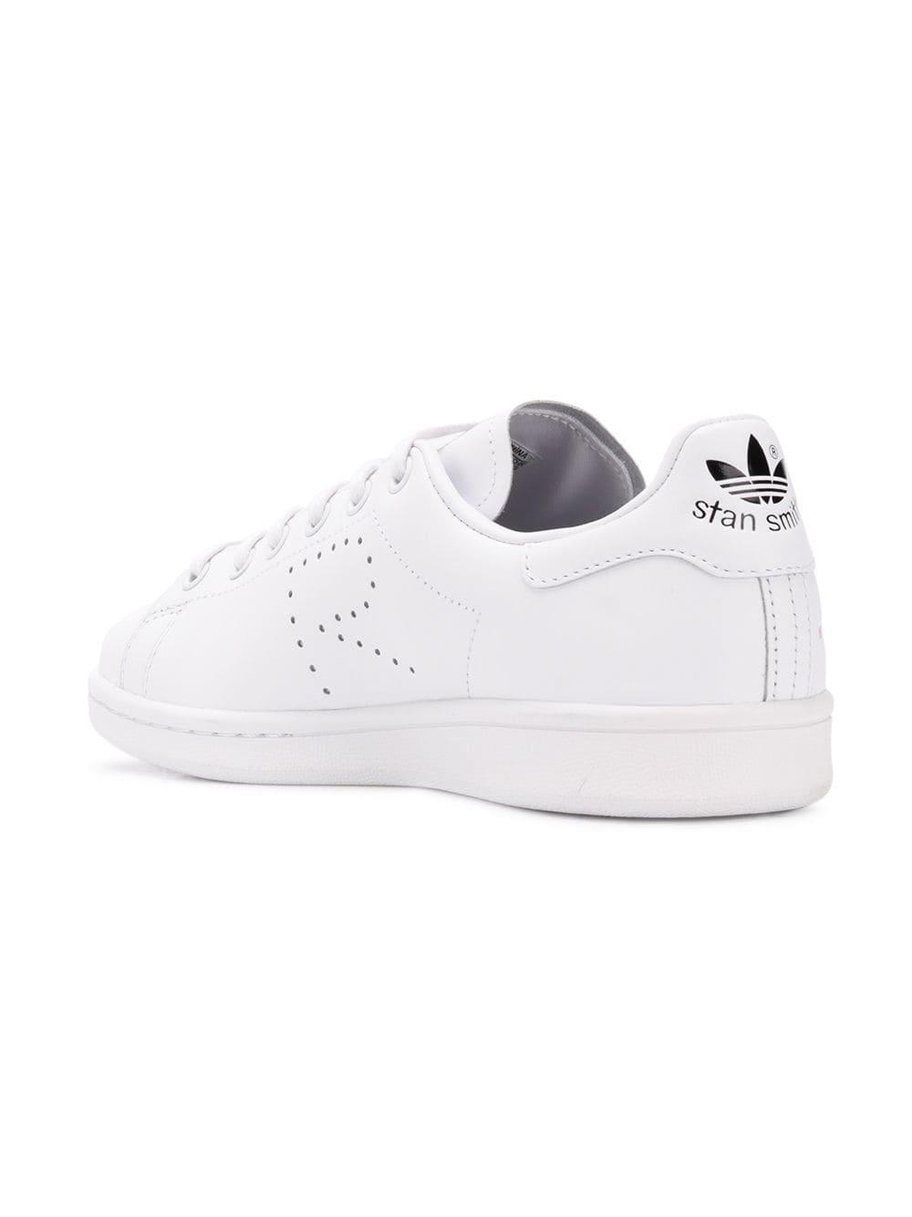 reputable site 2c7a8 feca6 ... special for shoe Adidas By Raf Simons - White Stan Smith Trainers - Lyst .