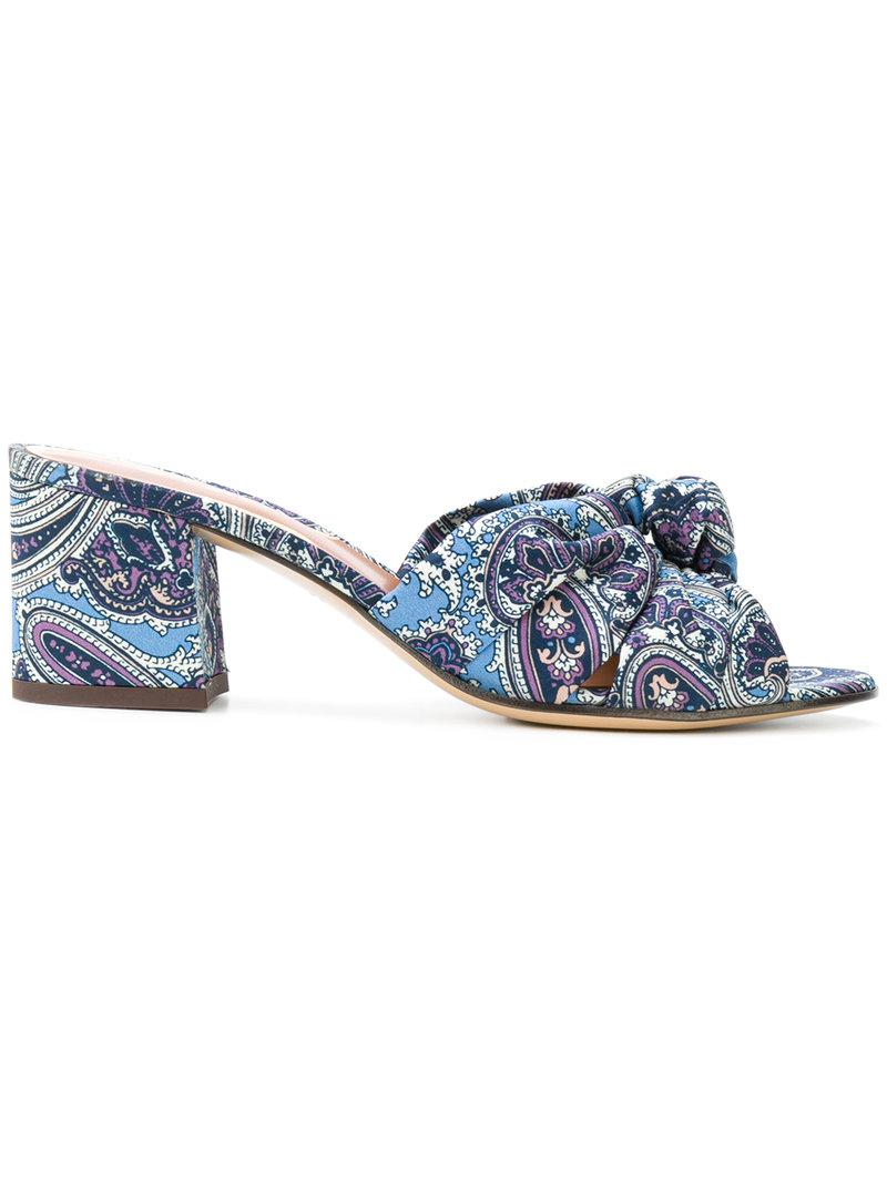 Etro Paisley print sandals