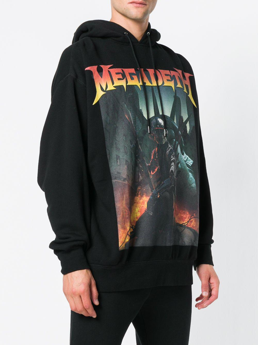 e688d4fc5ca4 R13 Megadeth Hoodie in Black for Men - Save 61% - Lyst