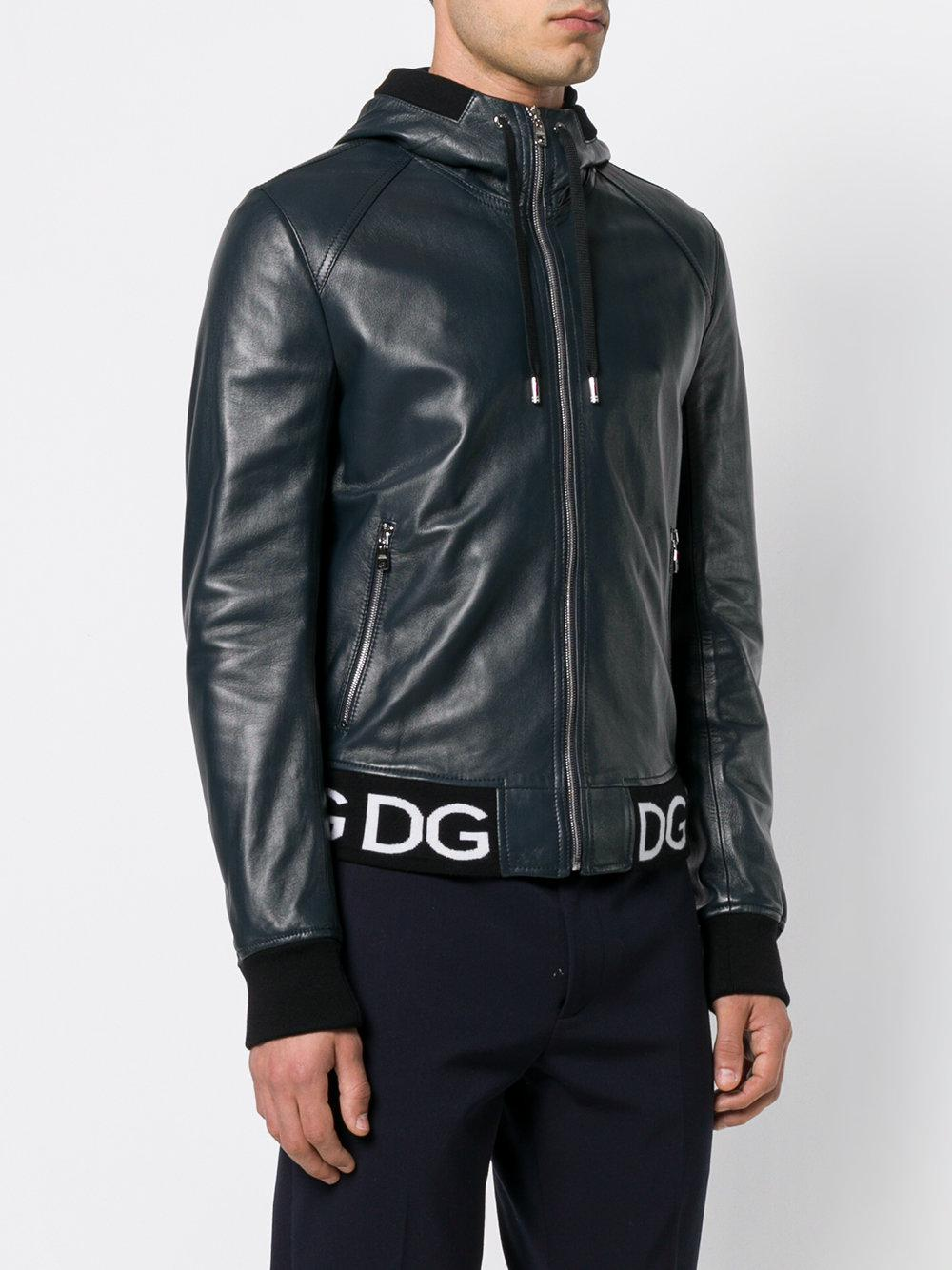 À Pour Veste Dolce Logo Bomber En Lyst Gabbana amp  Bande Homme E8qfWw bf0b3af97559