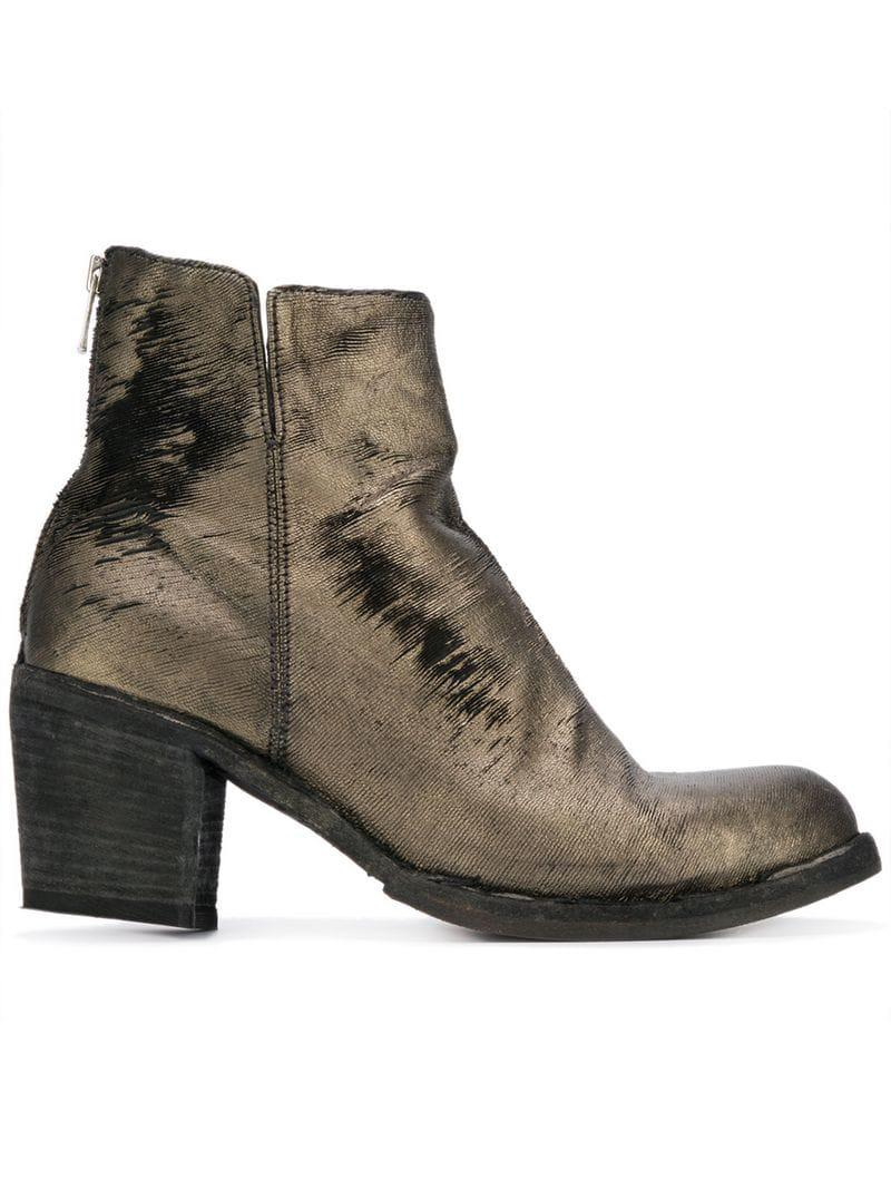 f25a1e49105 Women's Metallic Agnes Ankle Boots