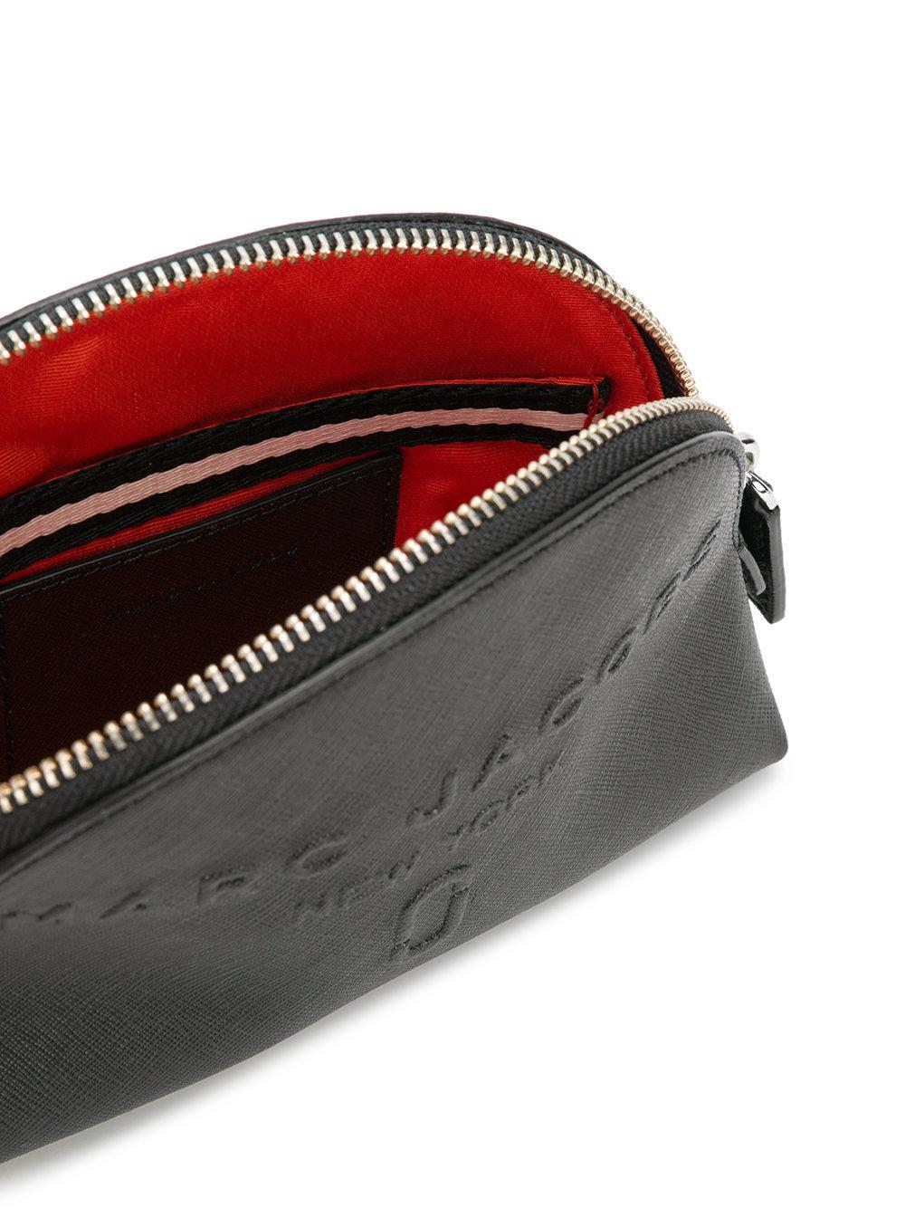 brand embossed wash bag - Black Marc Jacobs 5mAh8lo