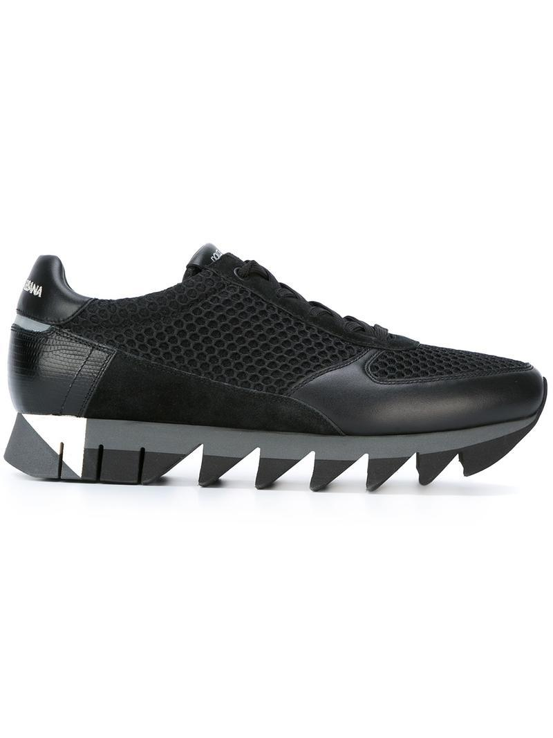 low priced 4f439 9d042 Dolce   Gabbana   39 capri  39  Sneakers in Black for Men