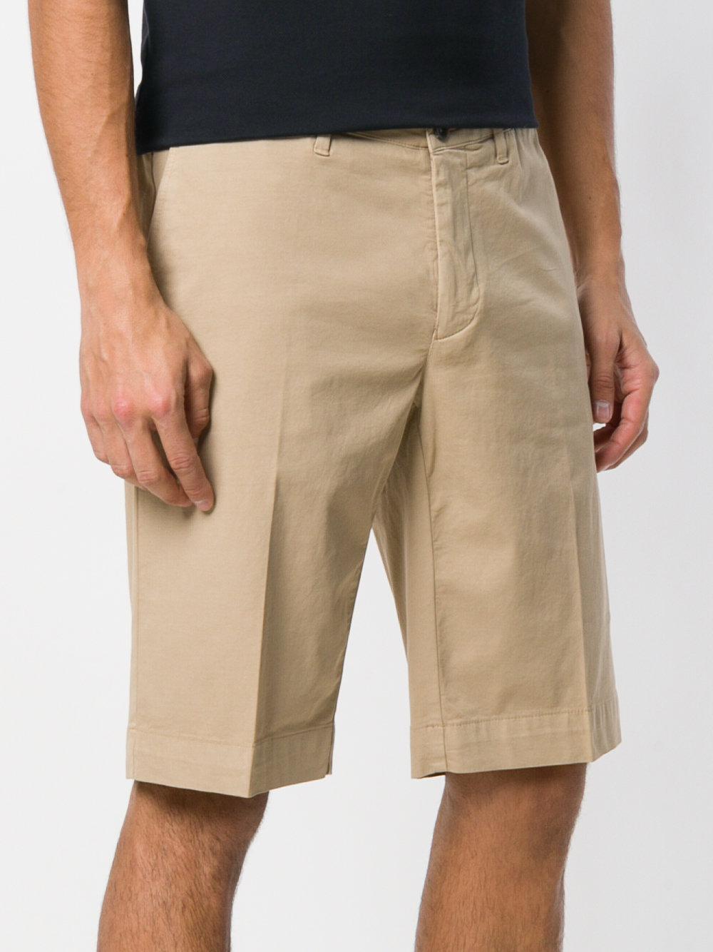 classic bermuda shorts - Nude & Neutrals Canali ch6fsGFiA