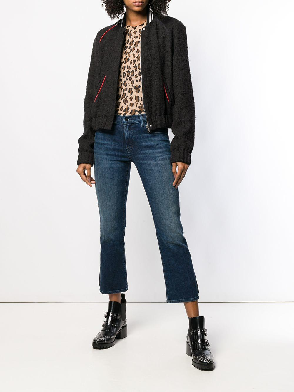 920d2067b37f Lyst - J Brand Classic Cropped Jeans in Blue