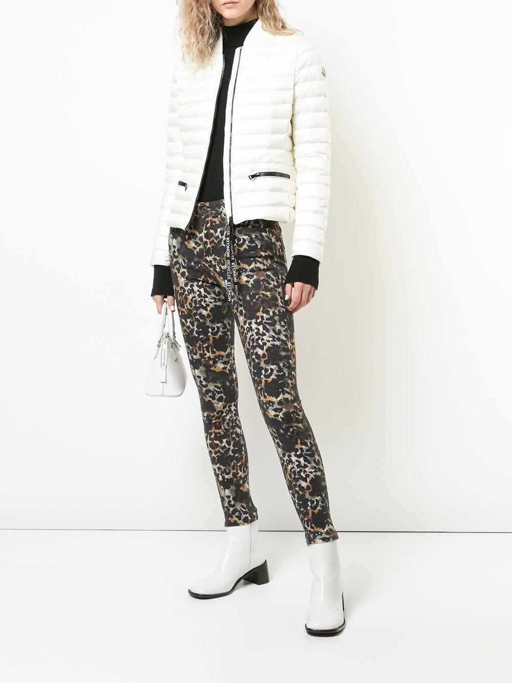 975c7311d071 AG Jeans Farrah Leopard Skinny Ankle Jeans in Black - Lyst
