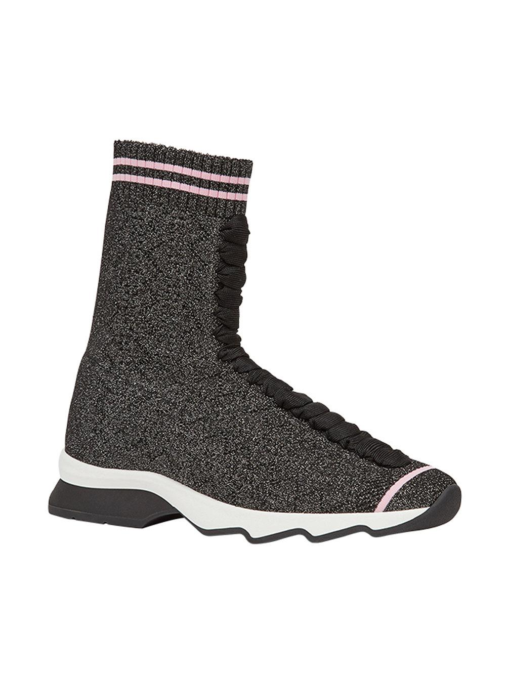 Fendi Sneakers In Tessuto in Black - Save 51% - Lyst 2418977f67e
