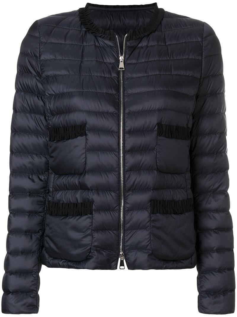 ec71f8c81951 Moncler Onyx Jacket in Blue - Lyst