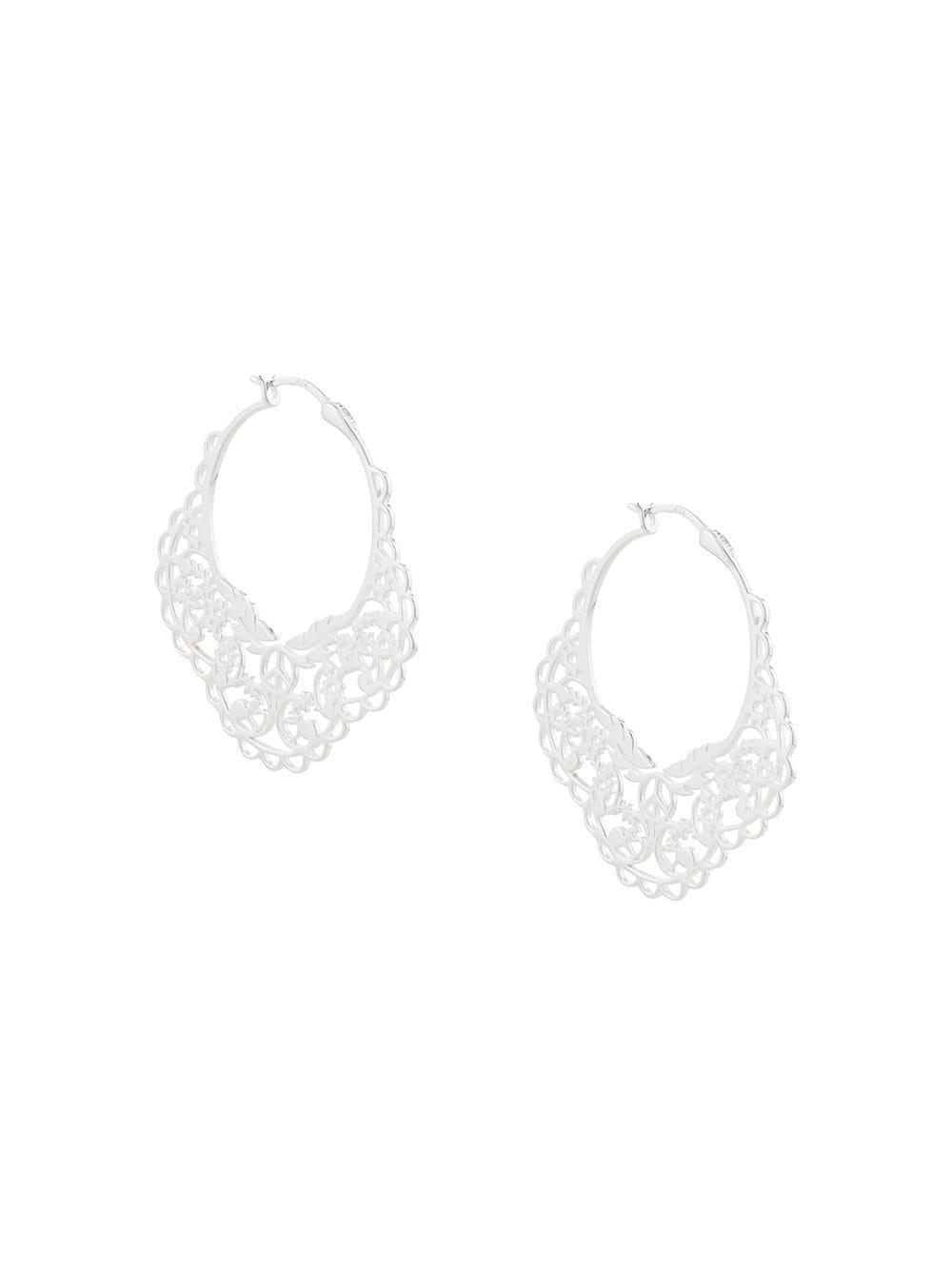 8dc1a419473 Karen Walker Filigree Earrings - Image Of Earring