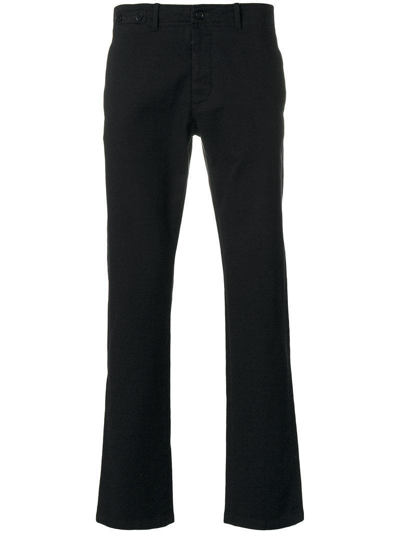 Classique Lyst Maison Chino Noir En Pantalon Re Margiela Edition xZXdwqrXH