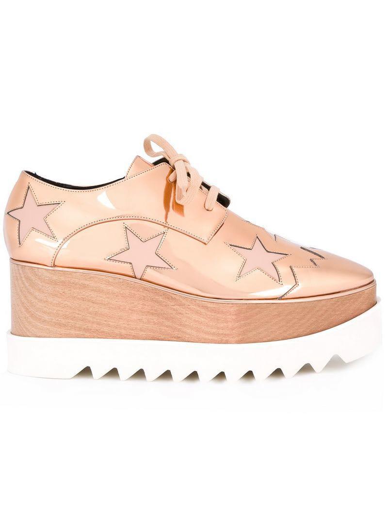 a77c7e0e0e0a Stella Mccartney  elyse  Shoes in Pink - Save 46.0431654676259% - Lyst