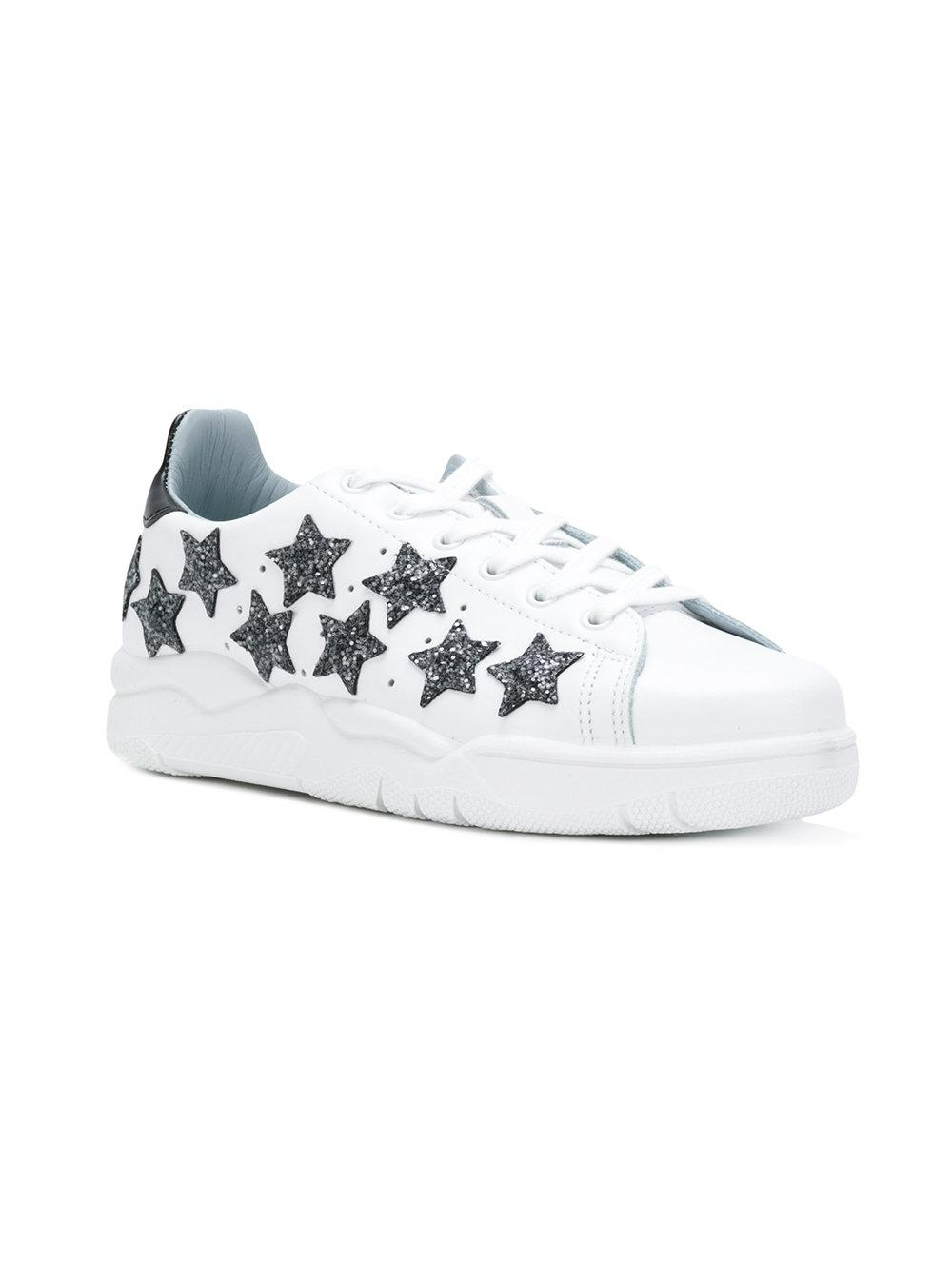 Outlet Cheap Authentic Shipping Discount Authentic embellished Roger sneakers - White Chiara Ferragni Buy Cheap Latest Collections Cheap Sale Finishline Outlet For Nice 8rYDGtp0