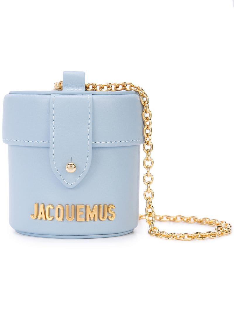 Jacquemus Le Vanity Mini Bag in Blue - Lyst 769f4cb4b08c5