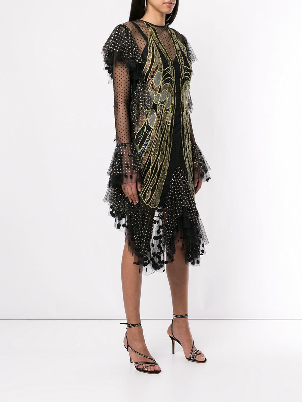 Born Dress Lyst Was Lace In Black Romance Exoskeleton 13JFTlcK