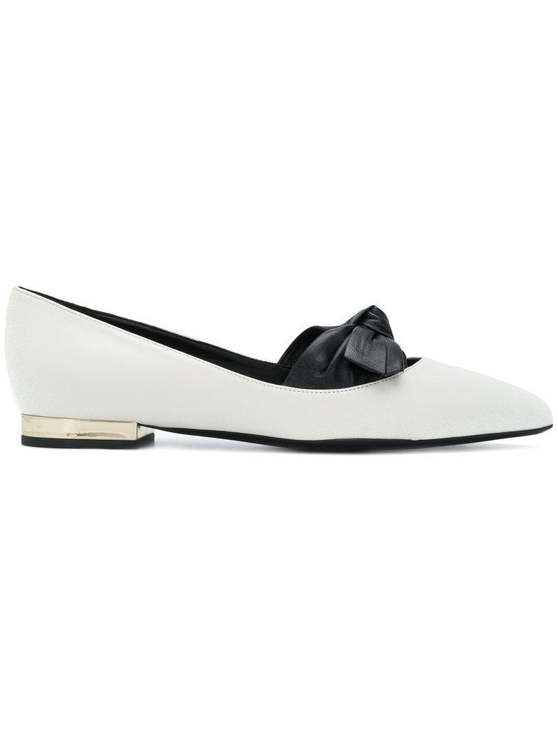 Lanvinbow detail ballerina shoes abordable Eastbay Pas Cher Rabais Exclusif Meilleure Vente Achat Vente Pas Cher Su4ms0FU3