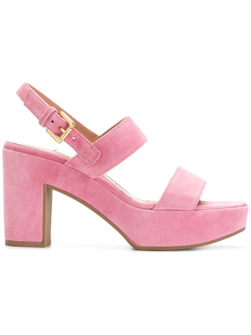 knot front sandals - Pink & Purple L'autre Chose XlMMboW