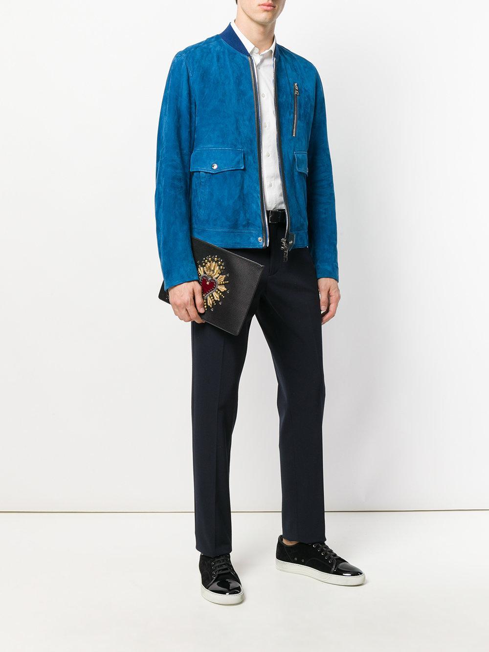 Gabbana embrague Lyst Porta parche en hombre corazón de documentos negro el Dolce con para dwpZBdq