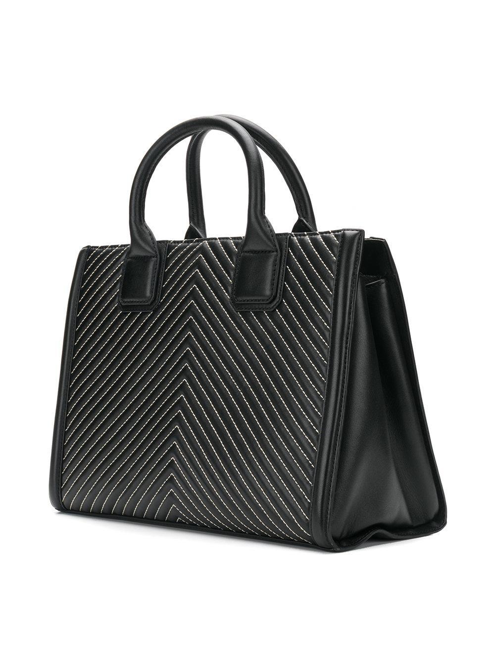Klassik quilted tote bag - Grey Karl Lagerfeld 6KFtk3Hceg