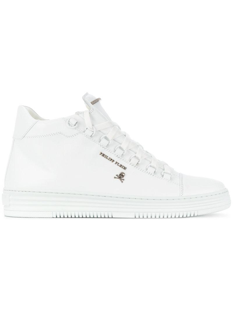 quality from china wholesale Philipp Plein ankle lace-up sneakers popular for sale discount pre order free shipping with credit card r5cvP