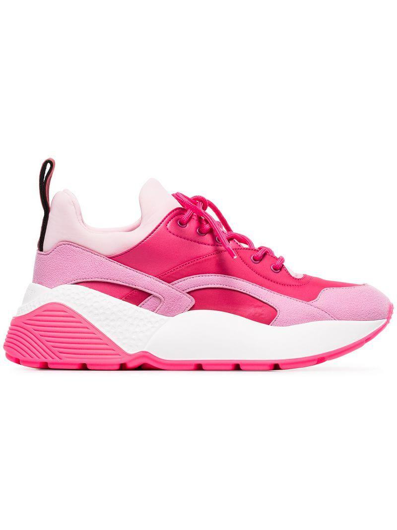 7847042d662f Lyst - Stella McCartney Eclypse Sneaker in Pink - Save 32%