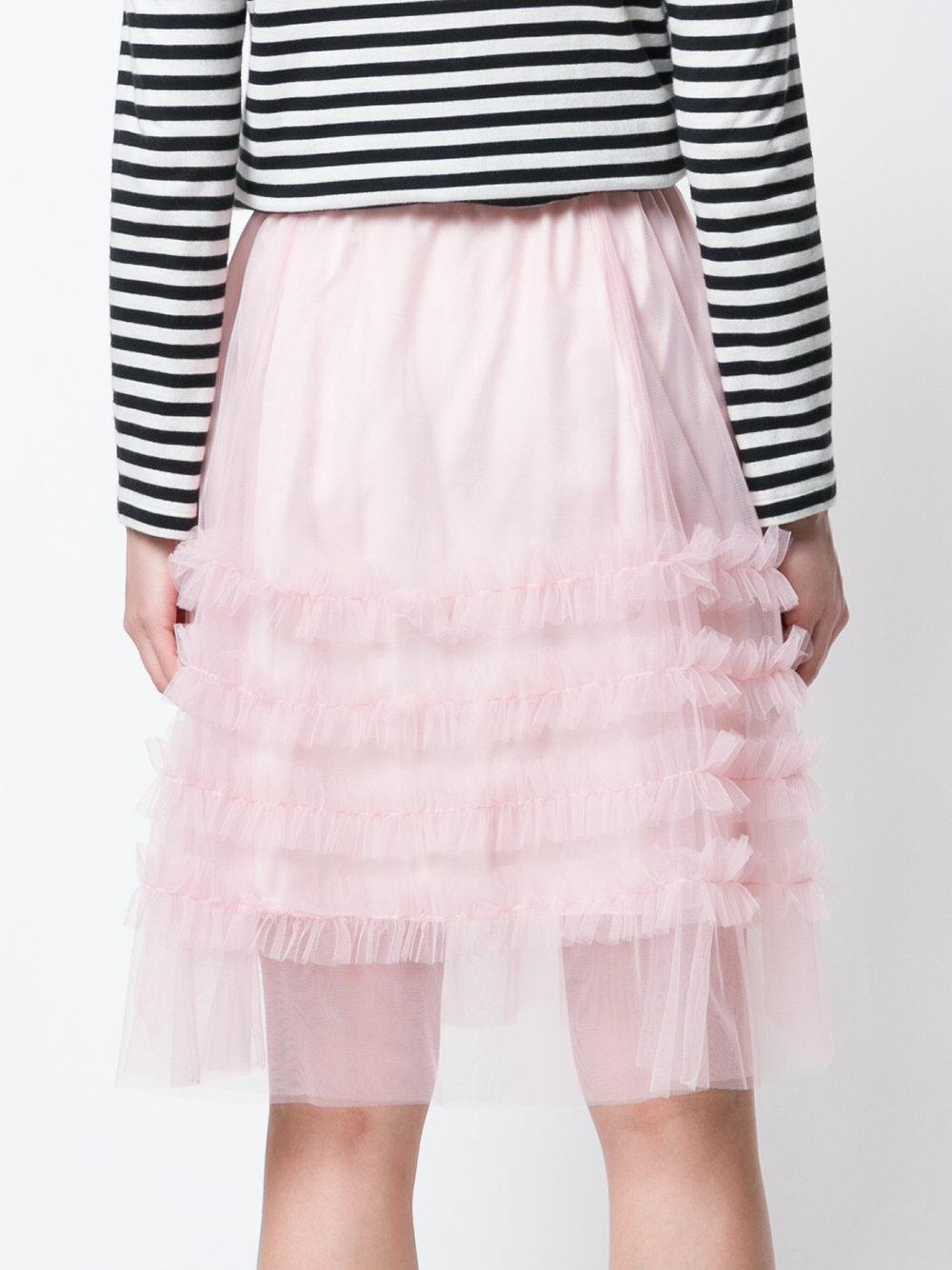 Sale 100% Guaranteed P.A.R.O.S.H. high-waisted ruffle skirt Clearance Enjoy mxBzCzL8