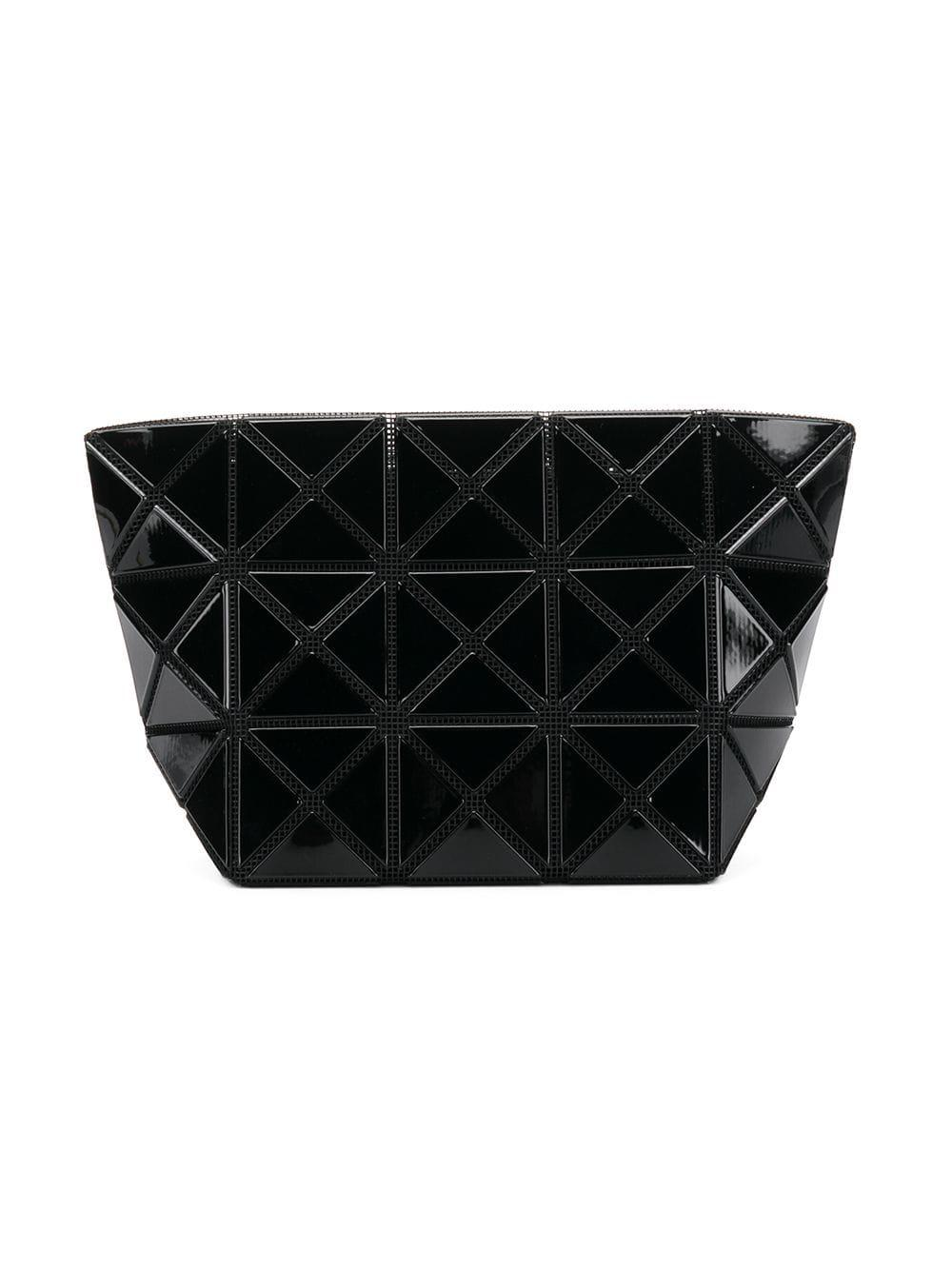 0f422b261c37 Lyst - Bao Bao Issey Miyake Lucent Frost Make Up Bag in Black - Save 6%