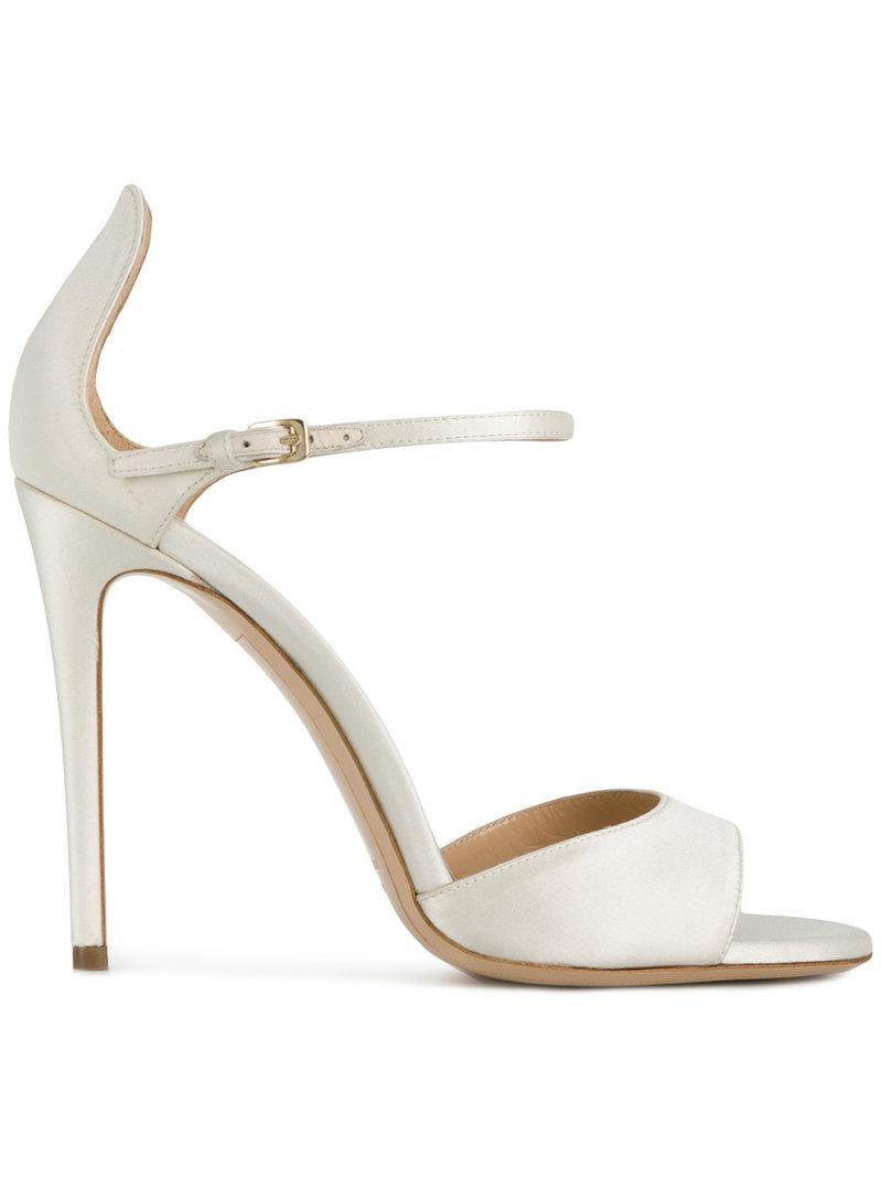 cross strap sandals - Metallic Deimille 4KWUVicp1