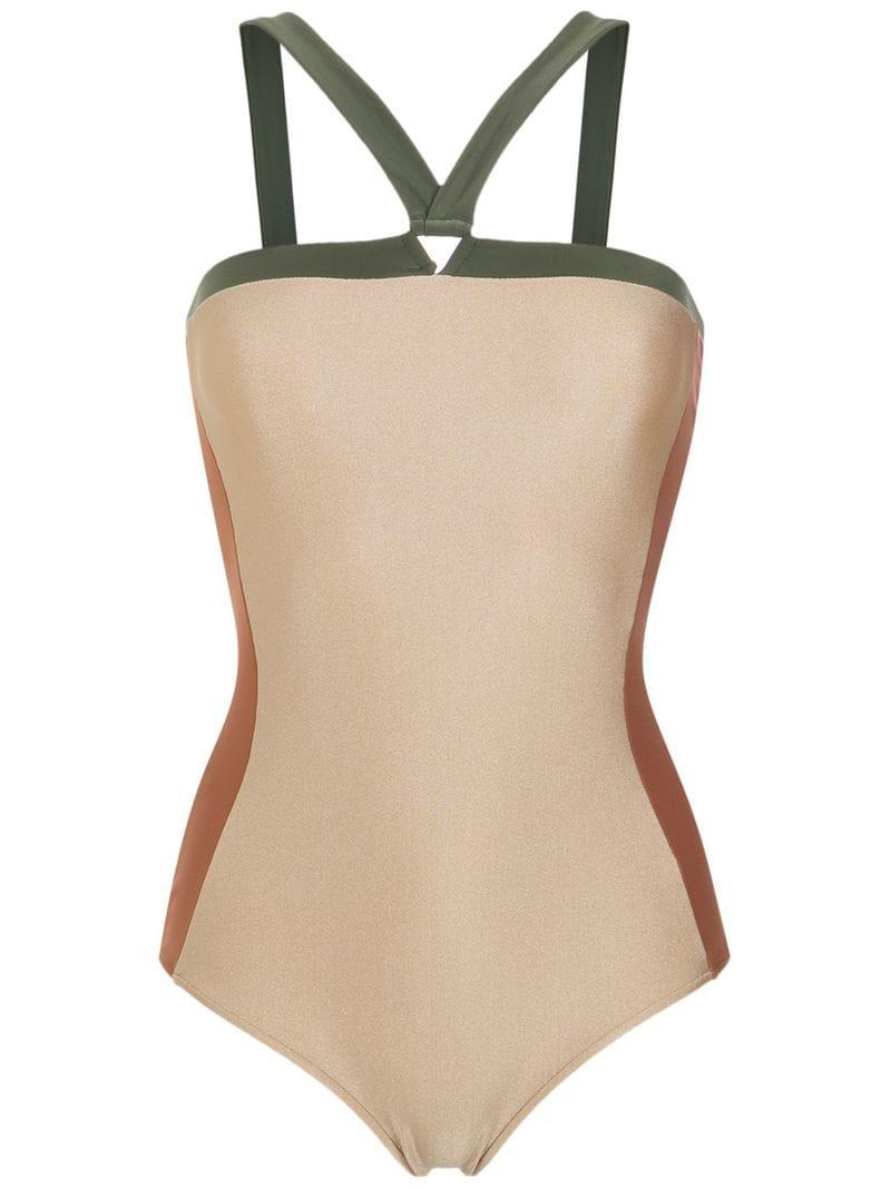 d53bd16ab7 Adriana Degreas. Women's Panelled Swimsuit