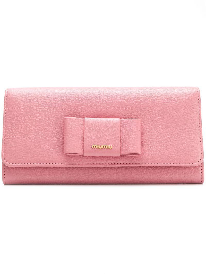 328c27c1d59e Gallery. Previously sold at  Farfetch · Women s Bow Wallets ...