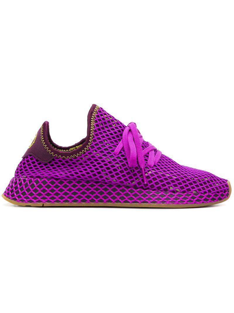3625d06674e4 Lyst - adidas Dragon Ball Z Deerupt Sneakers in Purple for Men