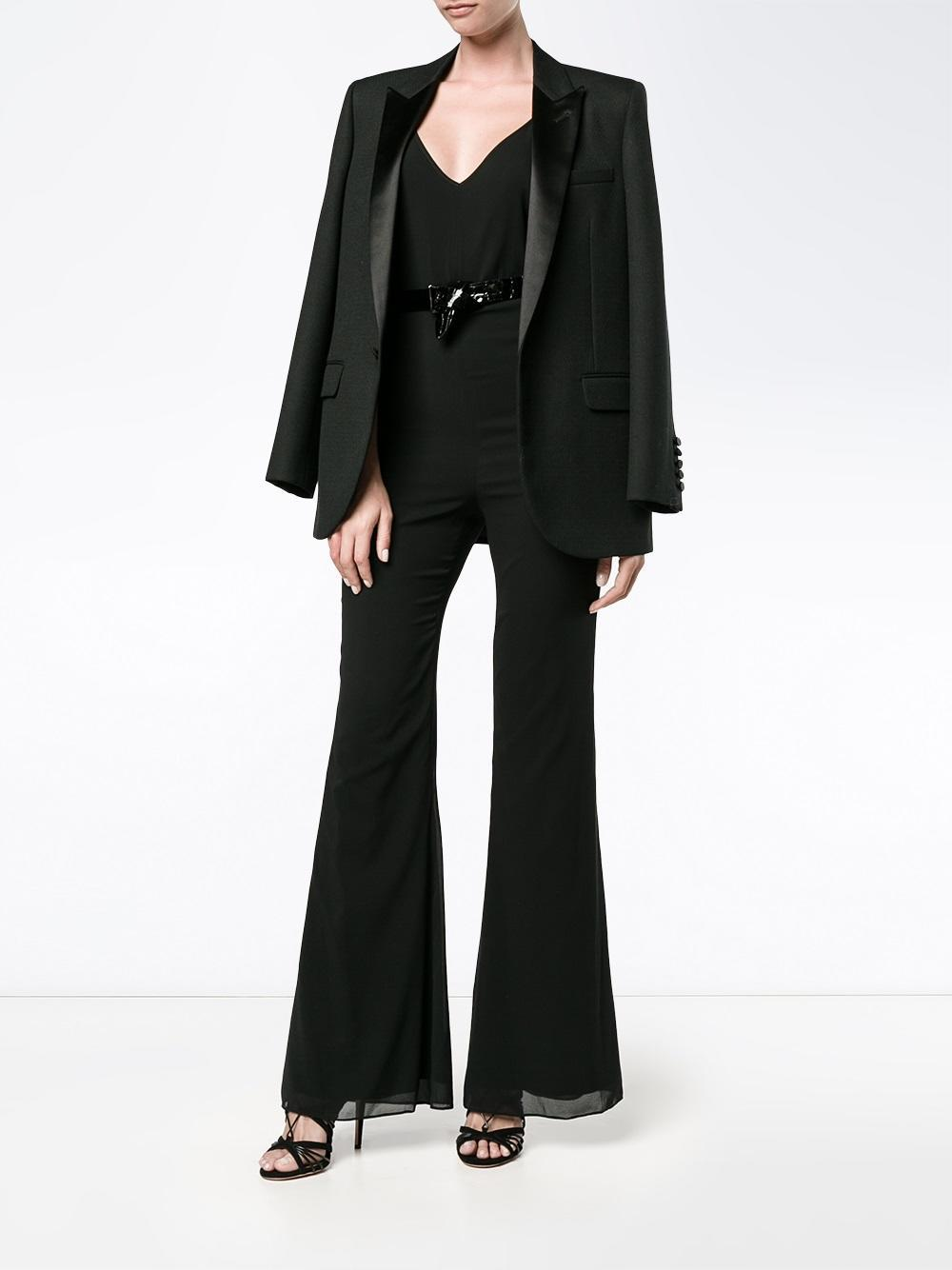 787515284f8 Haney Gloria Fitted Jumpsuit in Black - Lyst