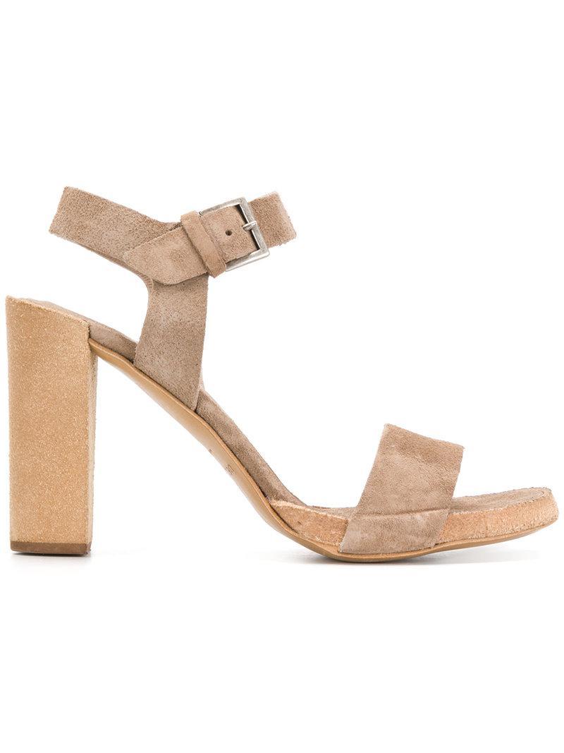 ROBERTO DEL CARLO Block heel sandals 3t2We