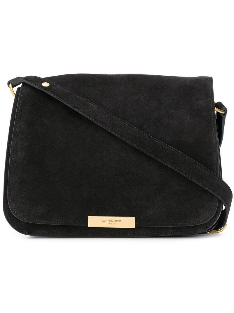 632797b5b1 Saint Laurent - Black Amalia Flap Shoulder Bag - Lyst. View fullscreen