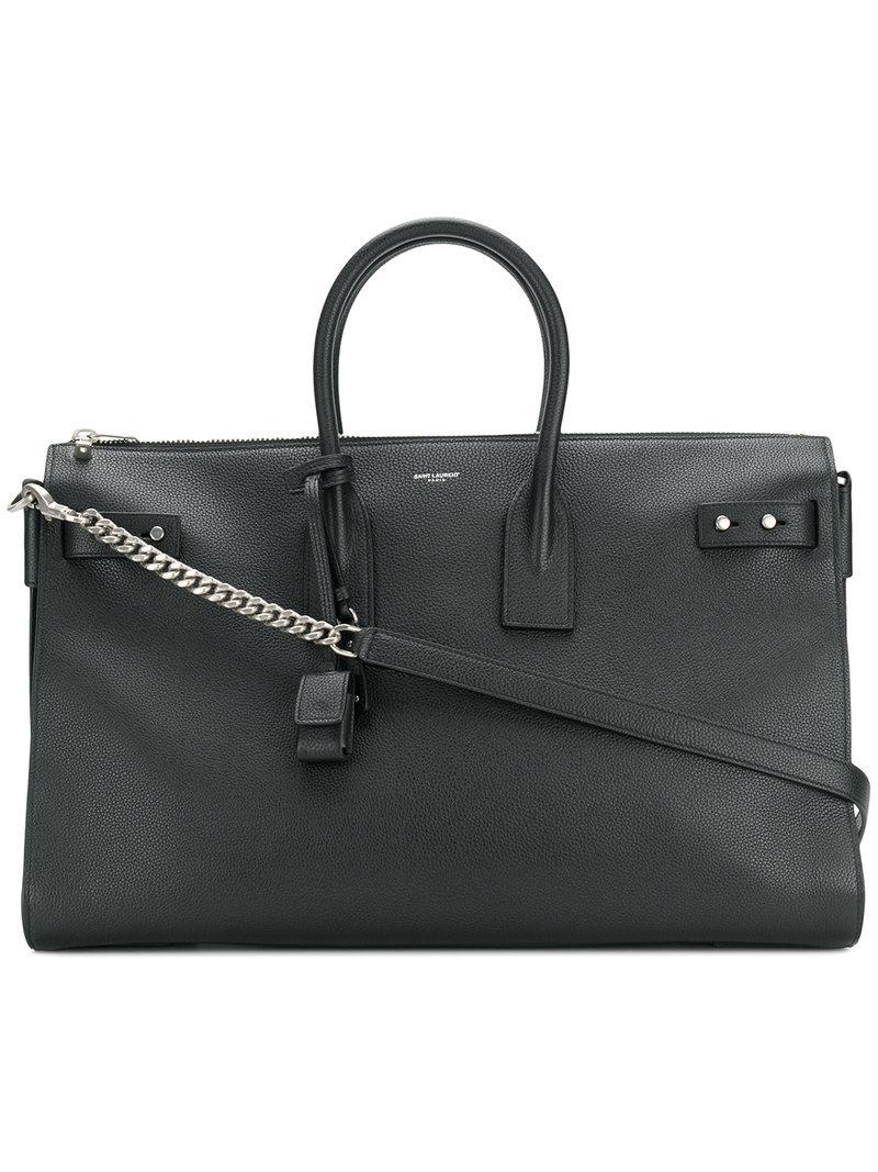 0fb90429ed29 Saint Laurent Sac De Jour Bag in Black - Save 3% - Lyst
