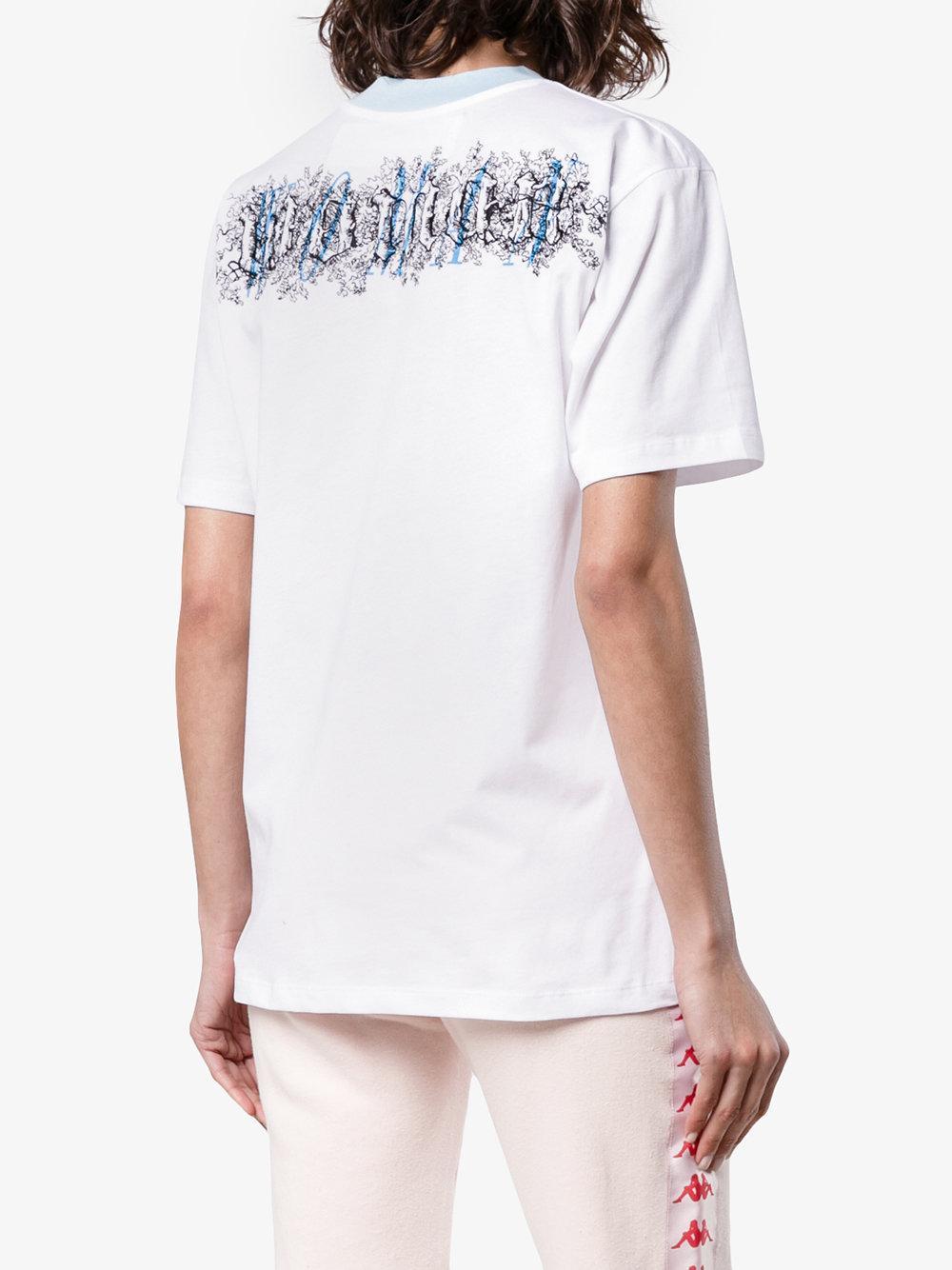 4c289fc9 Off-White c/o Virgil Abloh Tribute 1 Princess Diana T-shirt in White ...