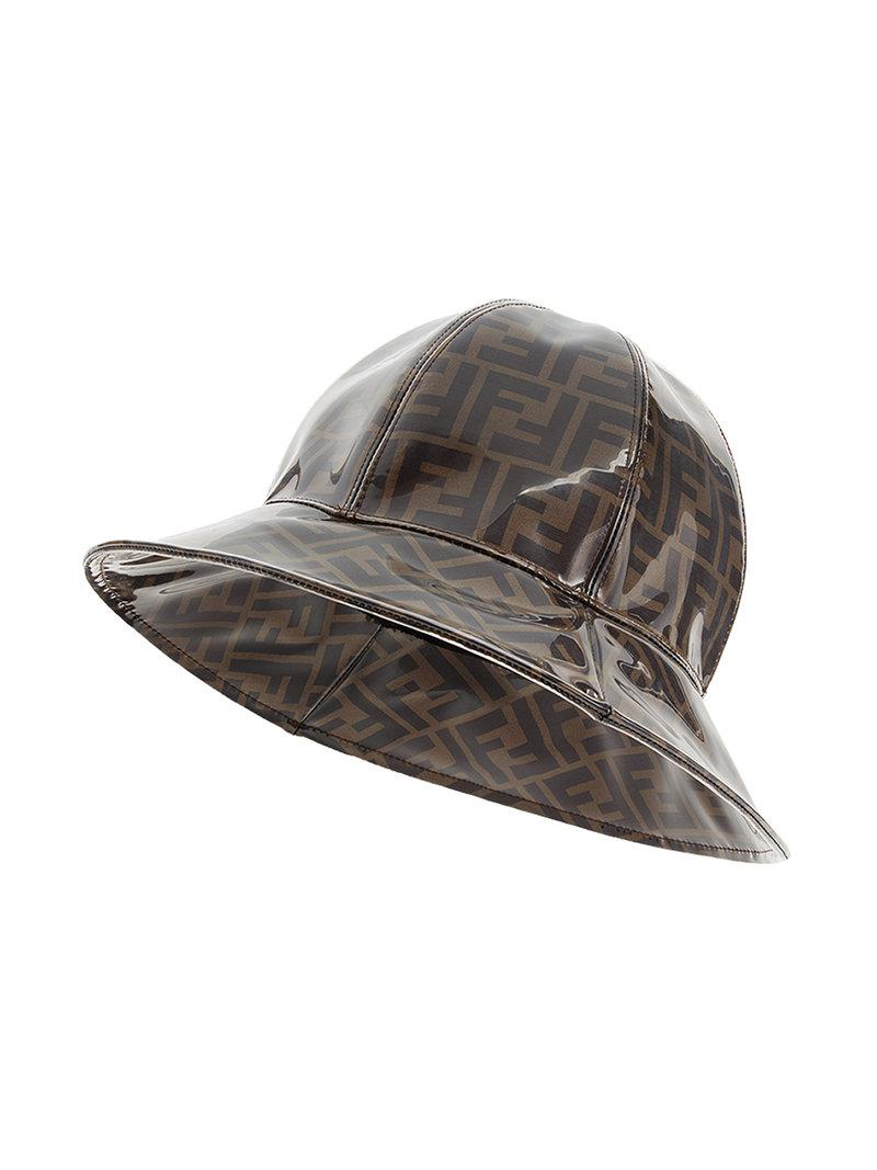 Lyst - Fendi Ff Logo Hat in Brown for Men ad5a0c4c03b5
