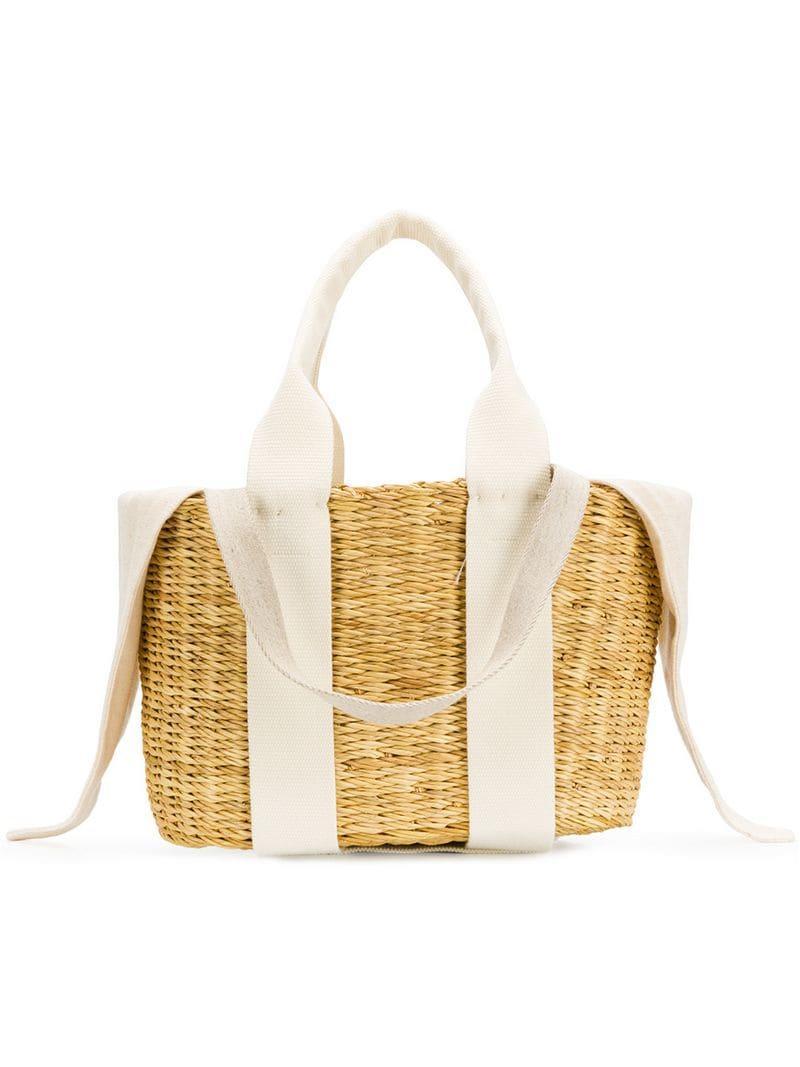 11385c8b57f1 Lyst - Muuñ Mini Caba Tote Bag in Brown